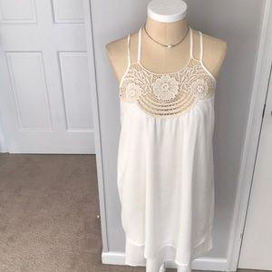 Dresses & Skirts - White summer dress.